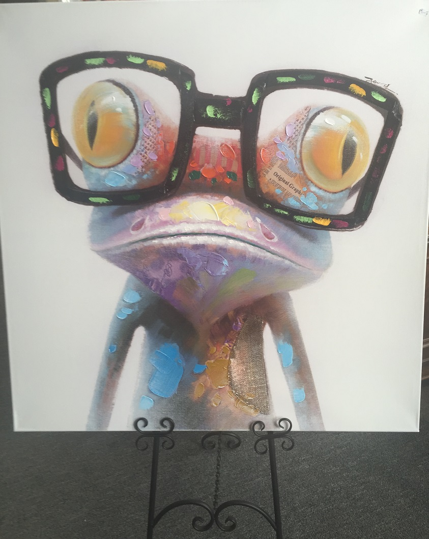Quirky Art - Frog