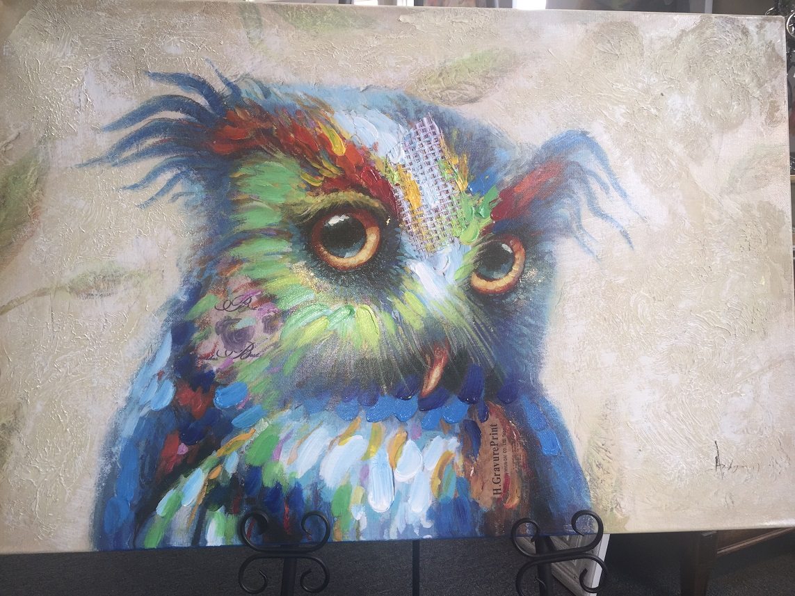 Quirky Art - Owl