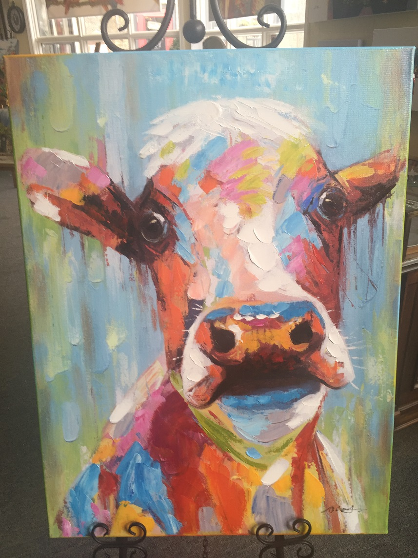 Quirky Art - Cow