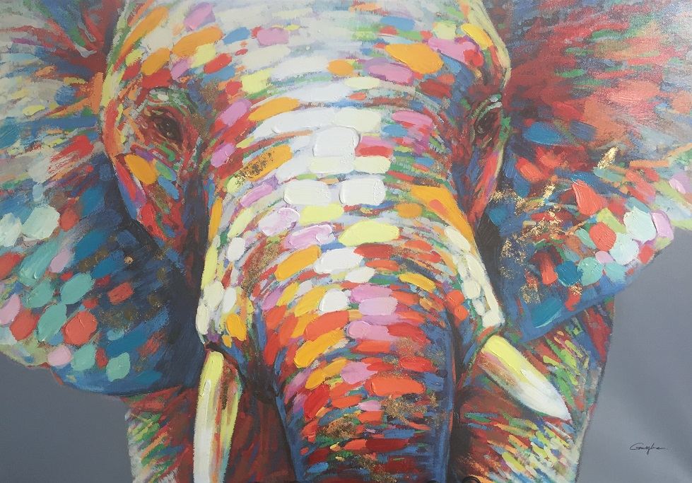 Quirky Art - Elephant